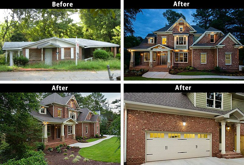 Remodel ranch style house before after House and home design