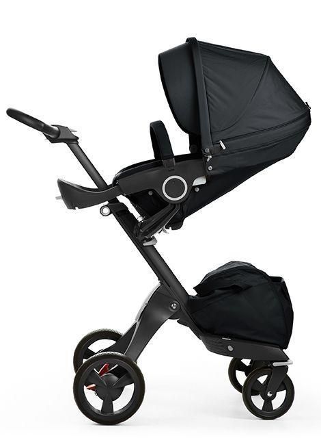 Luxe And Limited All Black Modern Stroller Stokke Xplory