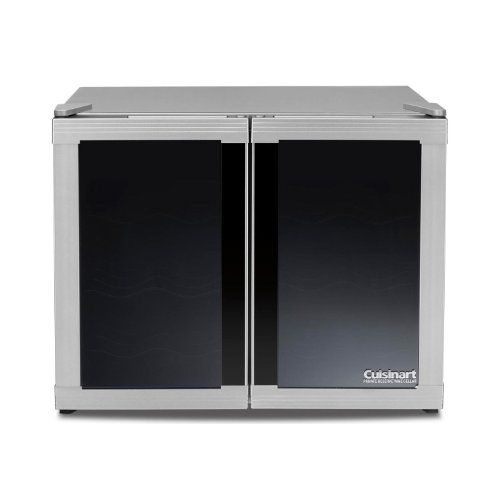 Cuisinart Dwc2400sa1 12 Bottle Dual Zone Wine Cooler Silver Want To Know More Click On The Image This Link Pa Dual Zone Wine Cooler Wine Cellar Wine Store