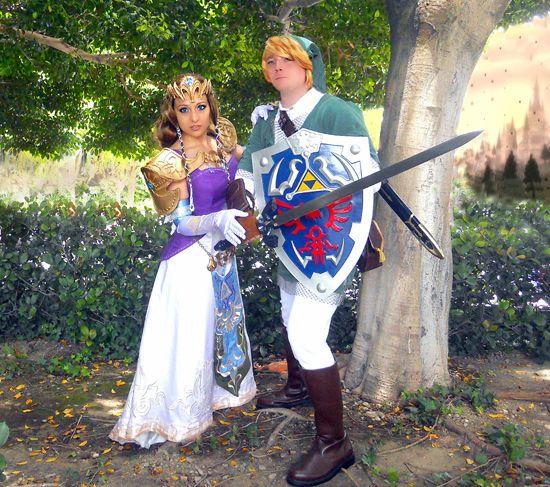 halloween costumes link and zelda