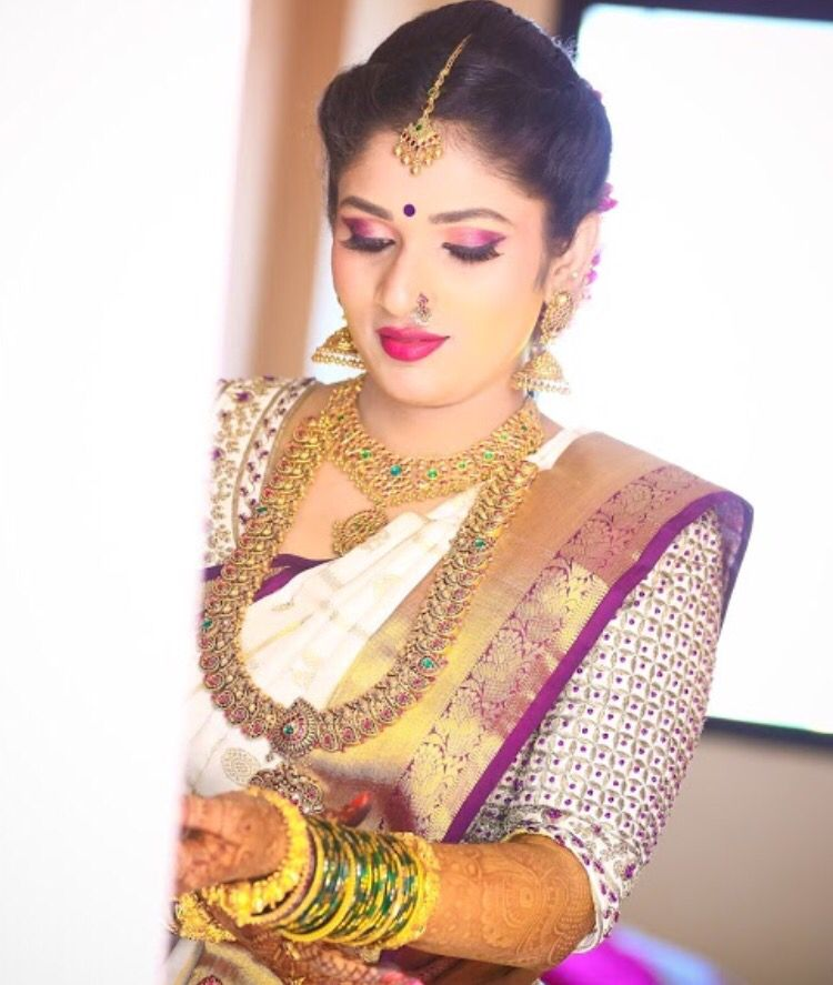 Pin by Dreaming Loud on Bridal Jewelry | Pinterest | Saree, Blouse ...