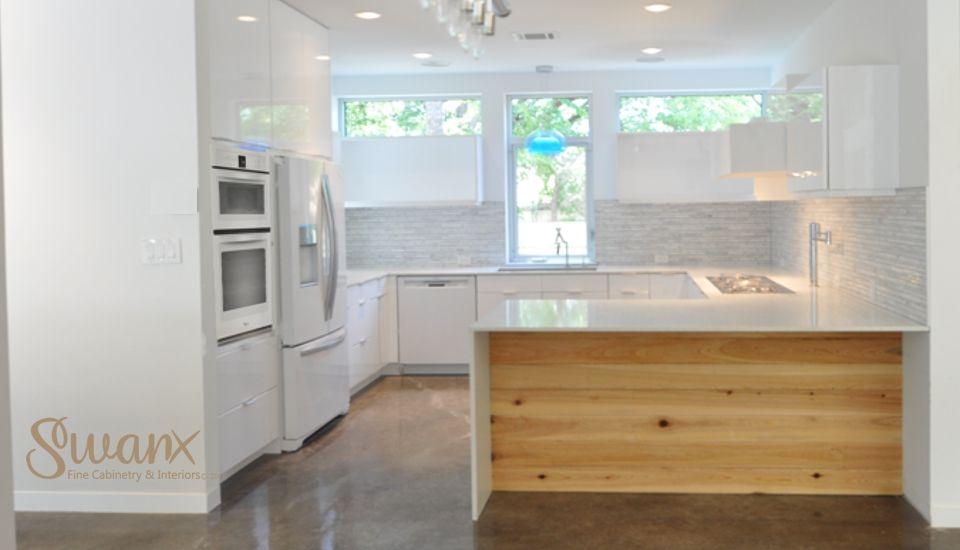 Sleek Modern Kitchen In Crestview By Austin Interior Design Firm Swanx