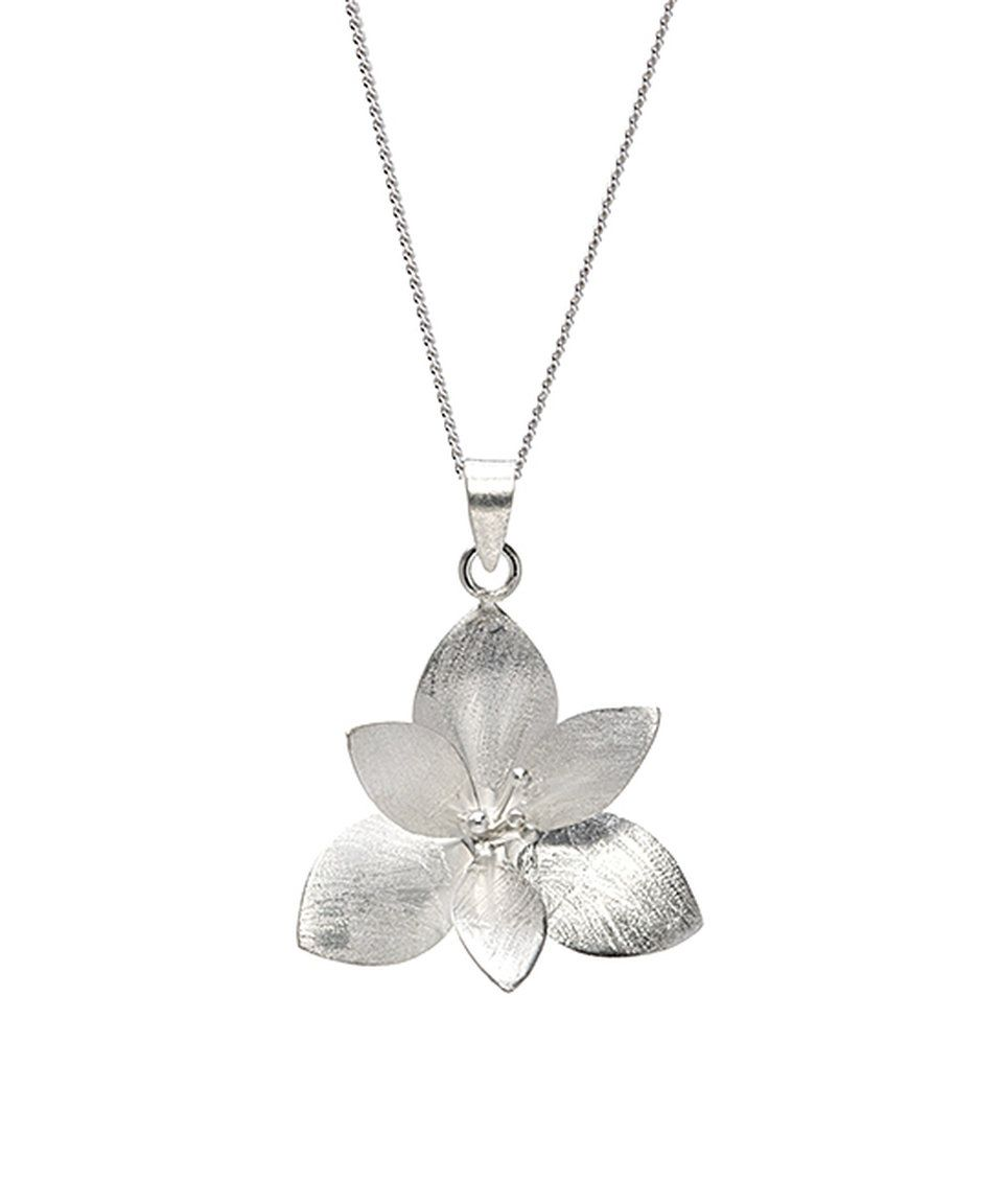 Take A Look At This Ag Sterling Jewelry Sterling Silver Lotus Flower