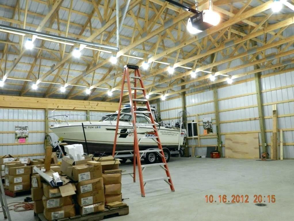 Incredible Pole Barn Storage Ideas Lighting