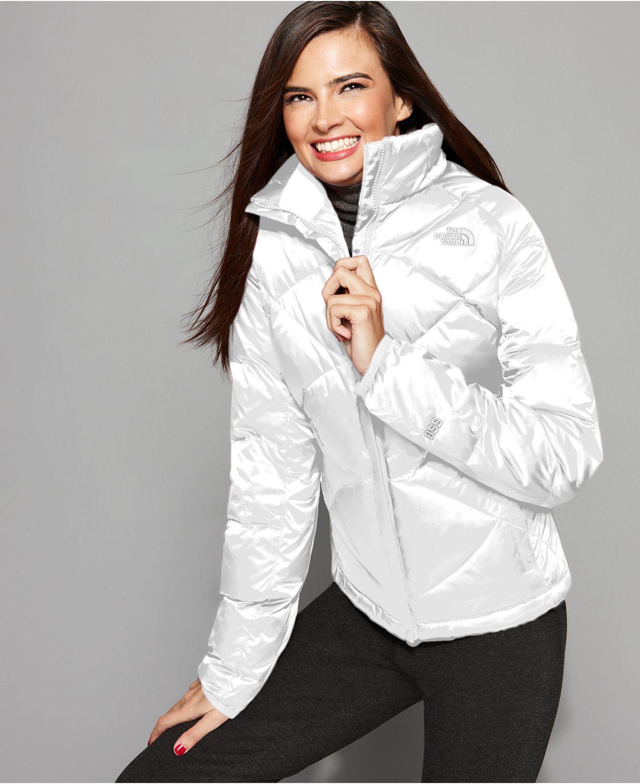 North Face Aconagua Zip Puffer Jacket Exact Same Jacket Except In Black North Face Jacket Jackets Stylish Clothes For Women [ 1616 x 1320 Pixel ]