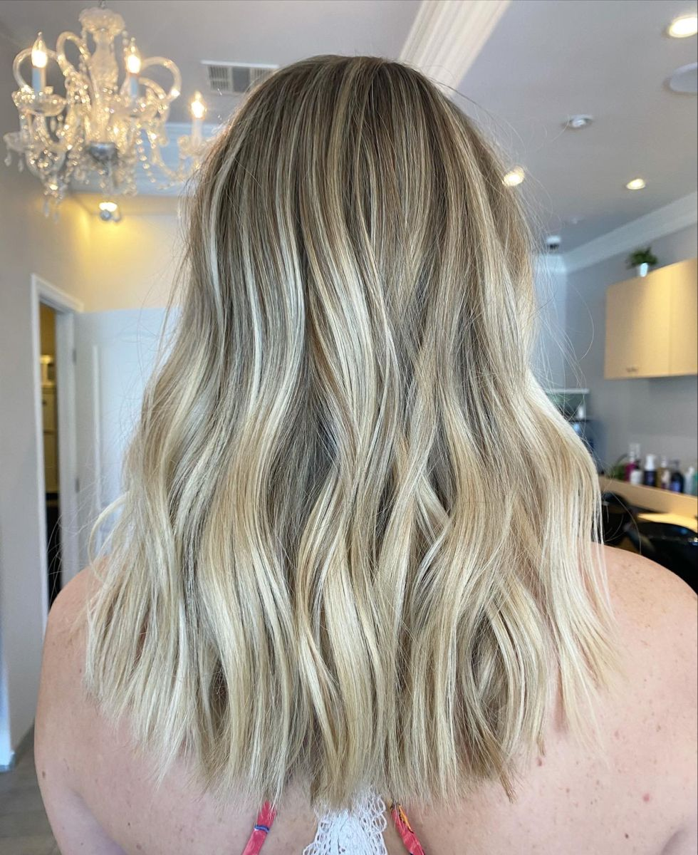 Babylights and balayage, Icy blonde, beige blonde, #livedincolor