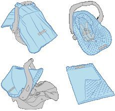 Carseat Canopy Whole Caboodle - Knott  sc 1 st  Pinterest & Carseat Canopy Whole Caboodle - Knott | Sewing Patterns ...