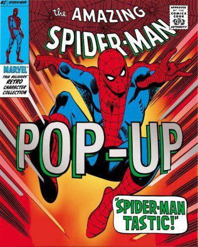 The Amazing Spider-man Pop-up by Caroline Repchuk