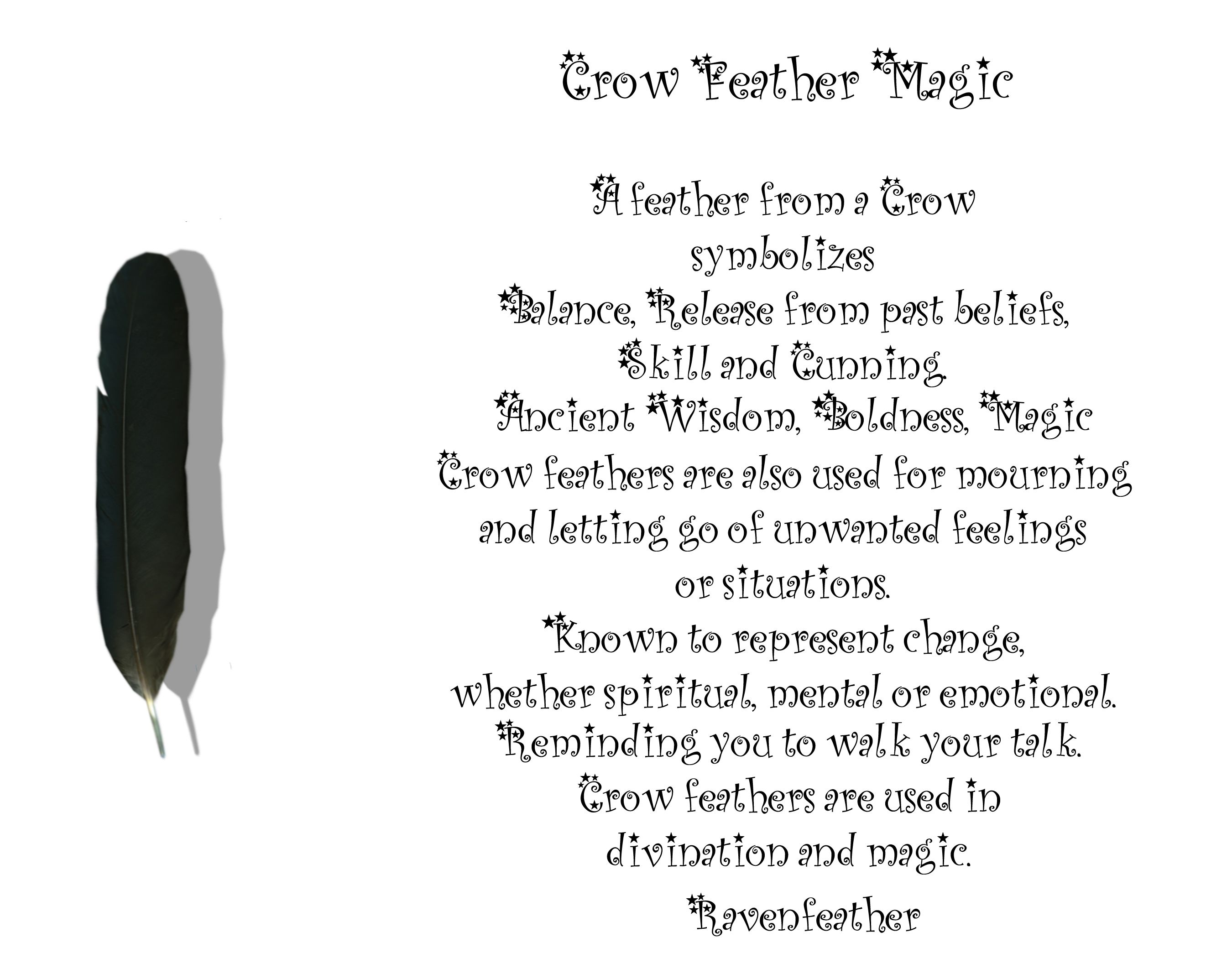 New version of crow feather magic please check your local and new version of crow feather magic buycottarizona Gallery