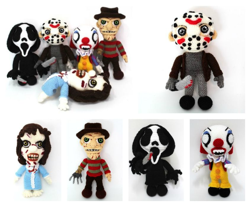 Crochet these horror amigurumi for Halloween - off the hook crochet ...