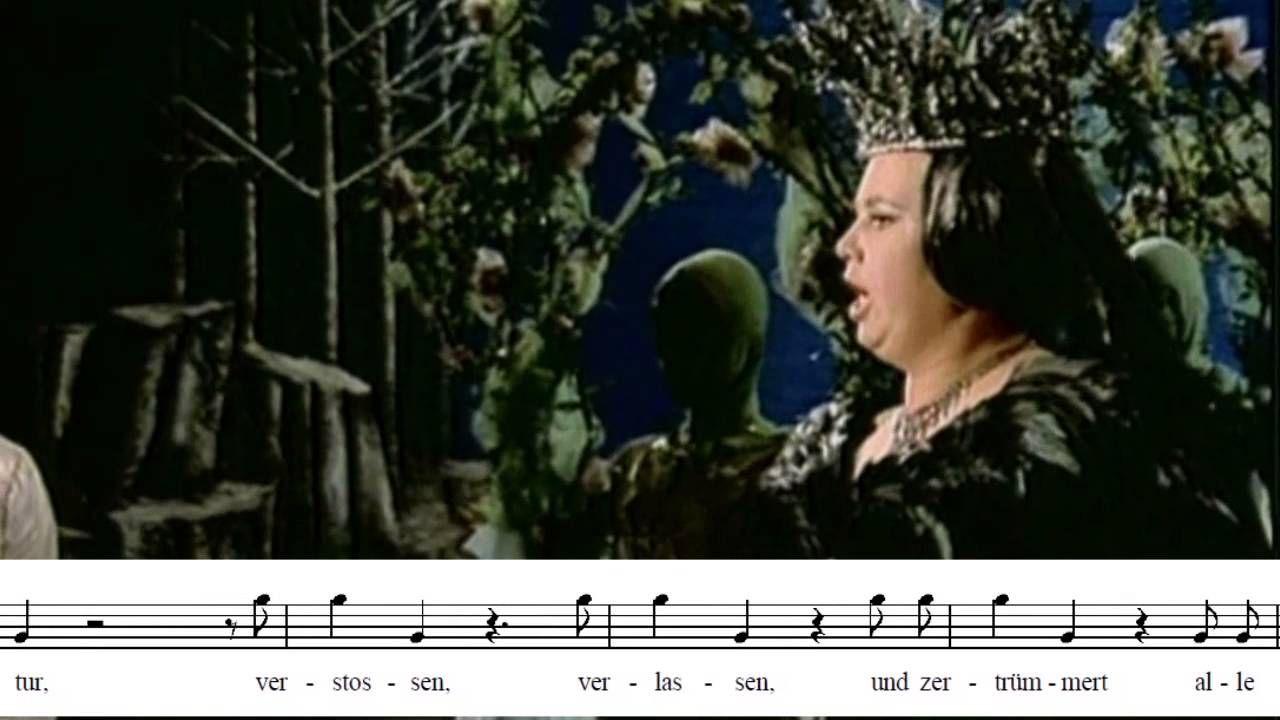 Cristina Deutekom Der Hölle Rache Die Zauberflöte La Flauta Mágica Opera Singers Classical Music Sopranos