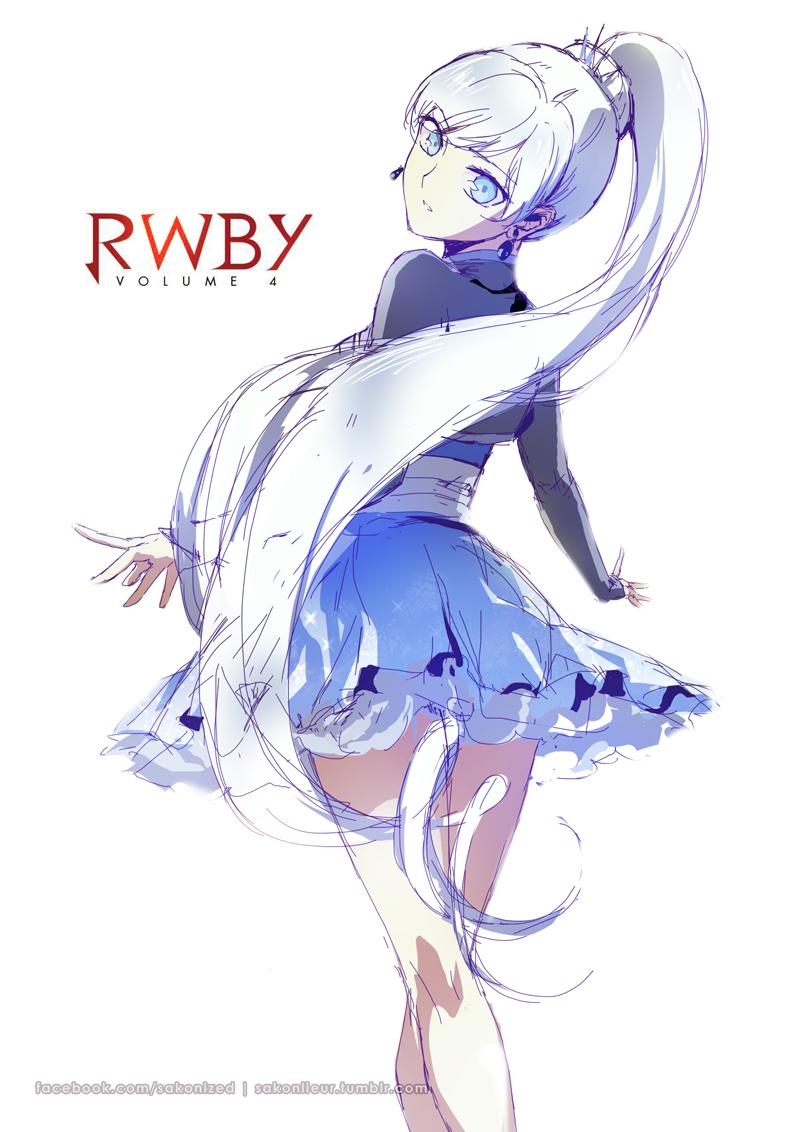 Weiss Schnee, by Sakon04 Anime, Garotas, Personagens