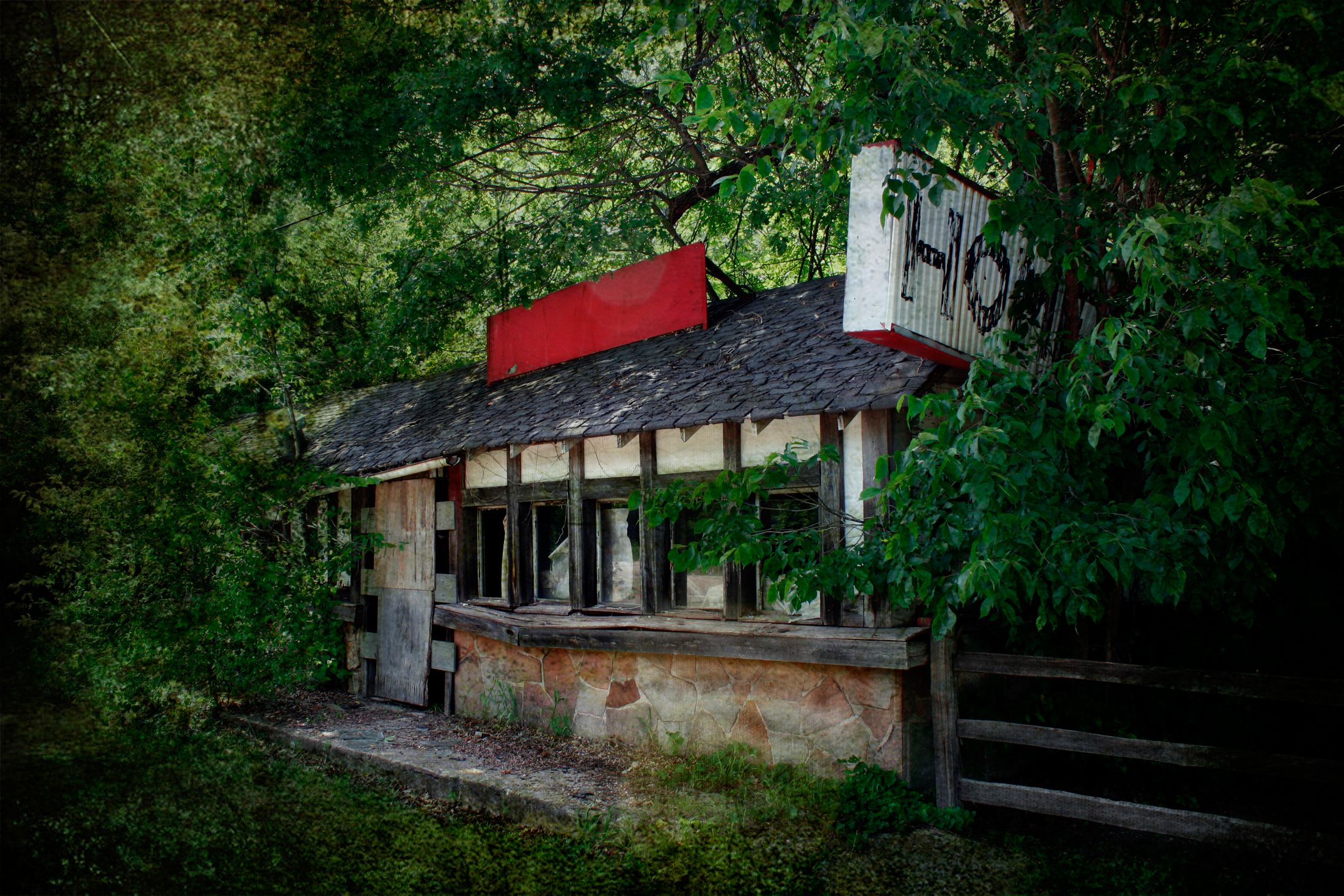 Remains Of Stony Dell Resort - Route 66 Newburg