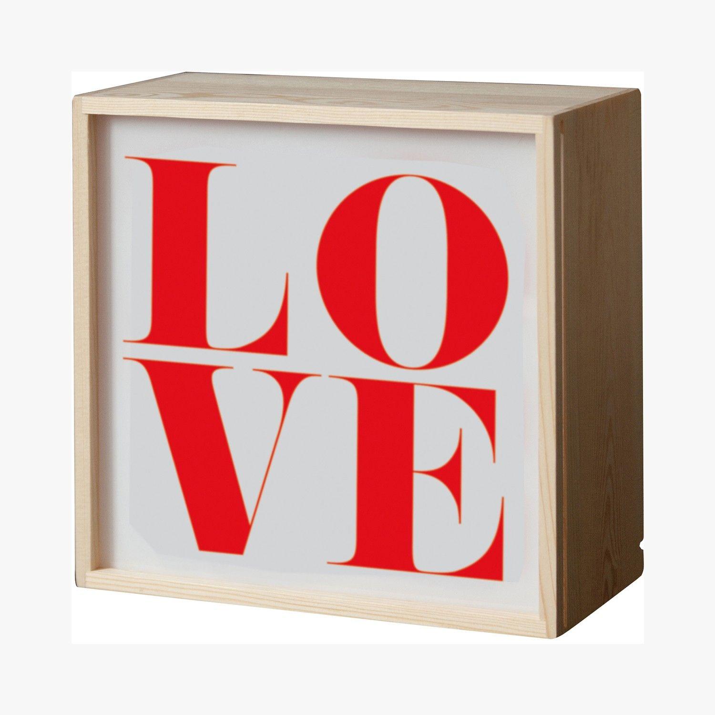 Lighthink box, Seletti #SaintValentin #Ideas #Heart #LeBonMarche