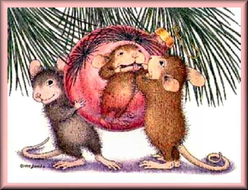 House Mouse Christmas
