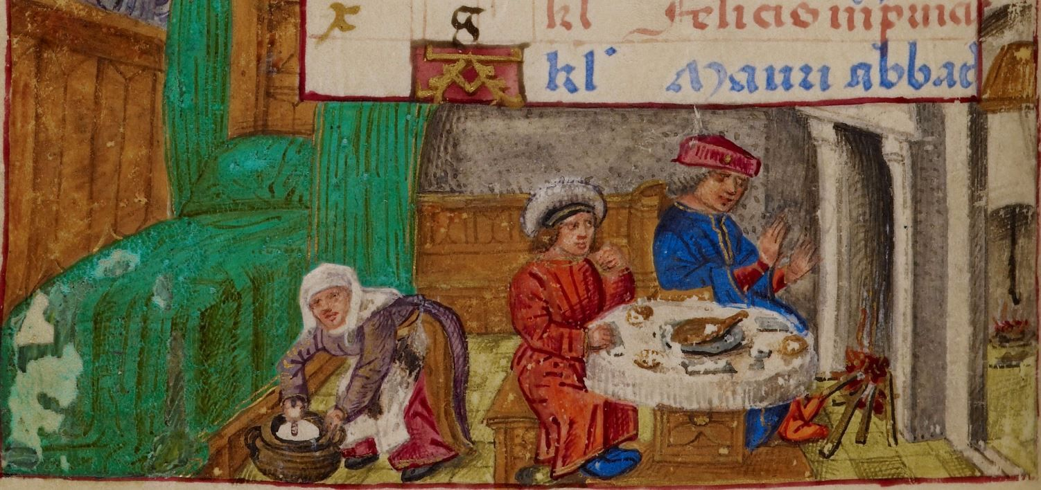 Book of Hours, Use of Rome (the 'Hours of Joanna I of Castile' or the 'Hours of Joanna the Mad') 1486-1506 Add MS 18852  Folio 1v