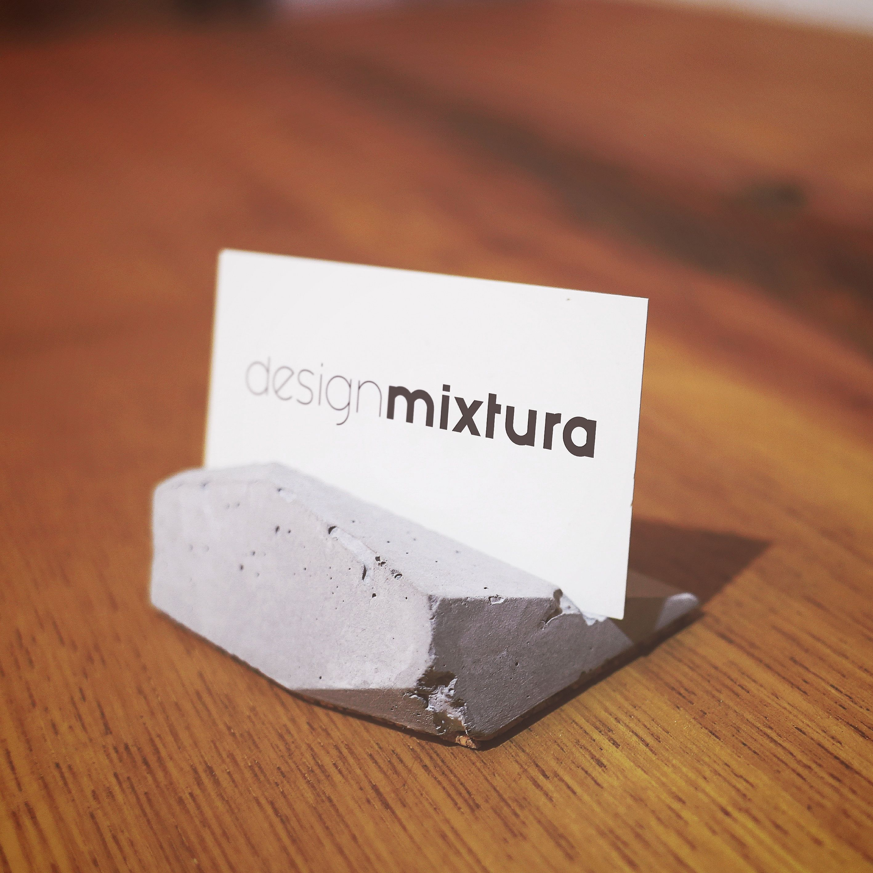 Concrete business card holder/ concrete #concrete #productdesign ...