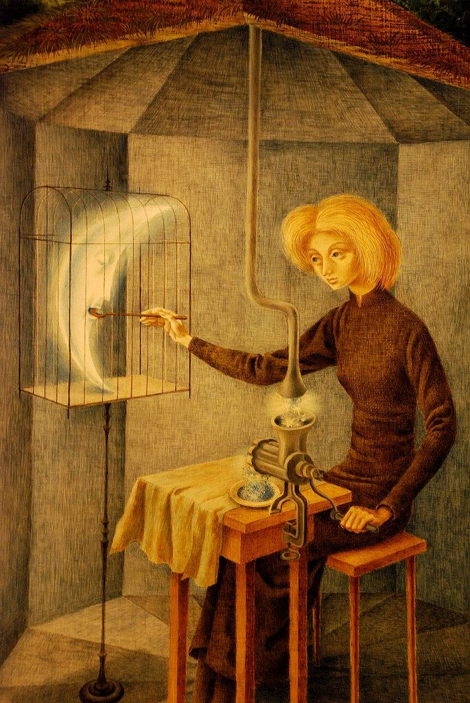 Remedios Varo... yet another lunar whim