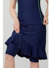 Modest swim skirt with built-in shorts on sale for $39. Also great for walking.