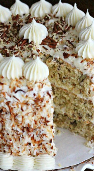 Italian Cream Cake Amazing Cake Recipes In 2018 Pinterest Cake