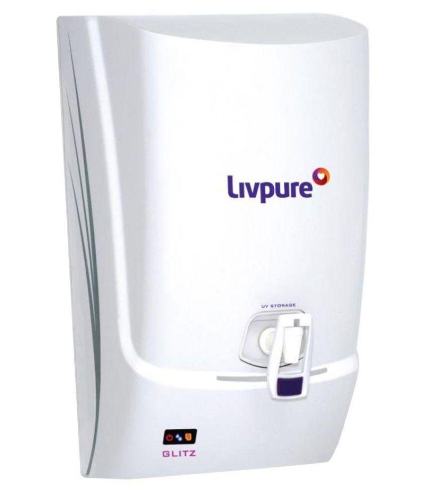 Livpure Glitz Plus Water Purifier Purifier Solar Water Heater