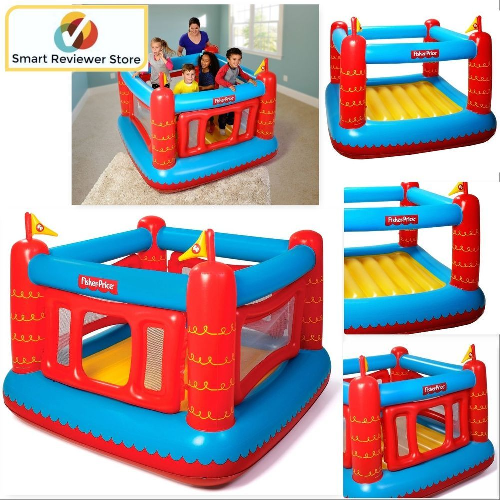 Inflatable Bounce House Bouncer Jumper Castle With 50 Play Balls