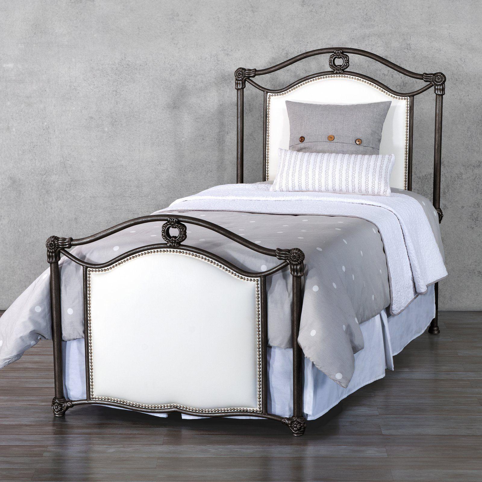 Wesley Allen Wilson Bed Iron bed, Bed