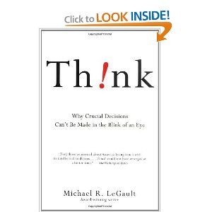 Think Why Crucial Decisions Can T Be Made In The Blink Of An Eye To Read After Blink Thank You Beth For Book Marketing Blink Of An Eye Book Worth Reading