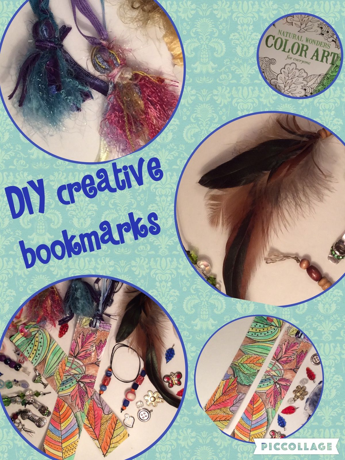 ooak bookmarks # feather craft #ribbon craft #bookmarks