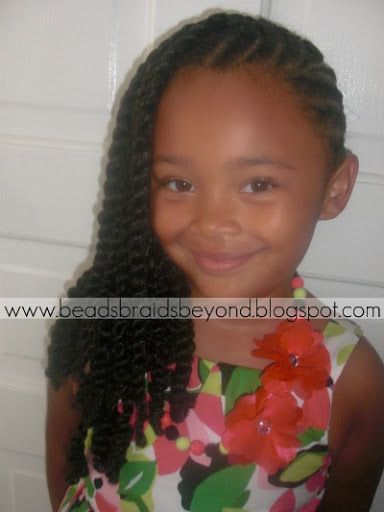 natural black twisted hairstyles girl kids | ... Natural Hair Styles ...