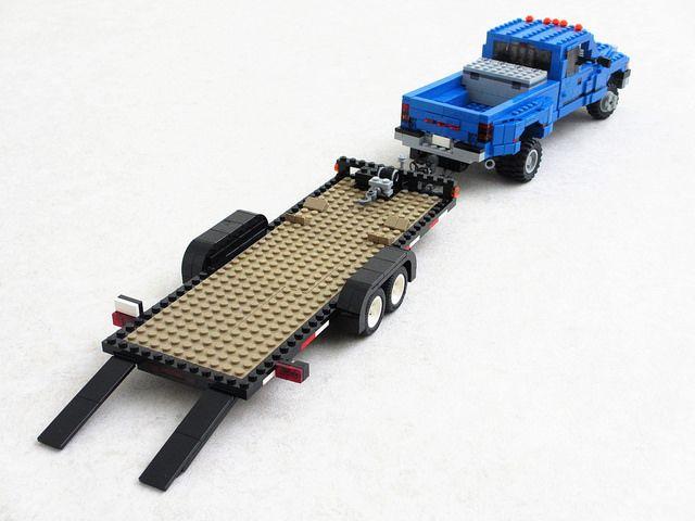 Car Trailer Lego Tractor Lego Truck Lego Cars