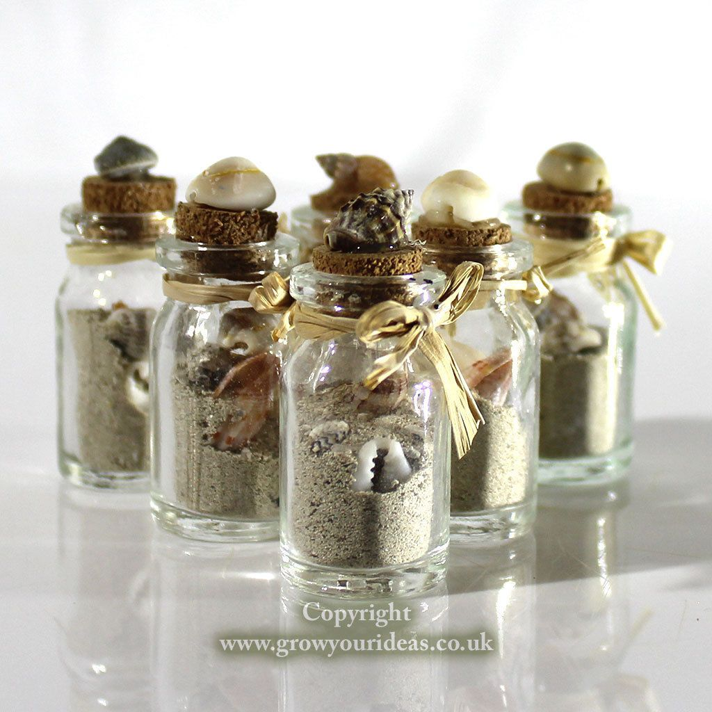 Real Weddings Cork: Details About 6 X Beach In A Bottle