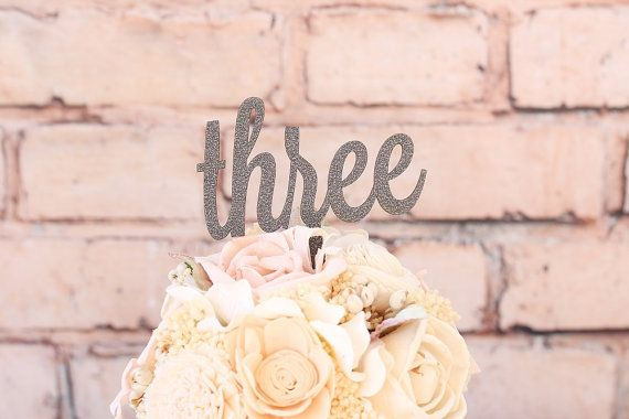 Glitter Table Numbers Wood Wedding Table by DownInTheBoondocks