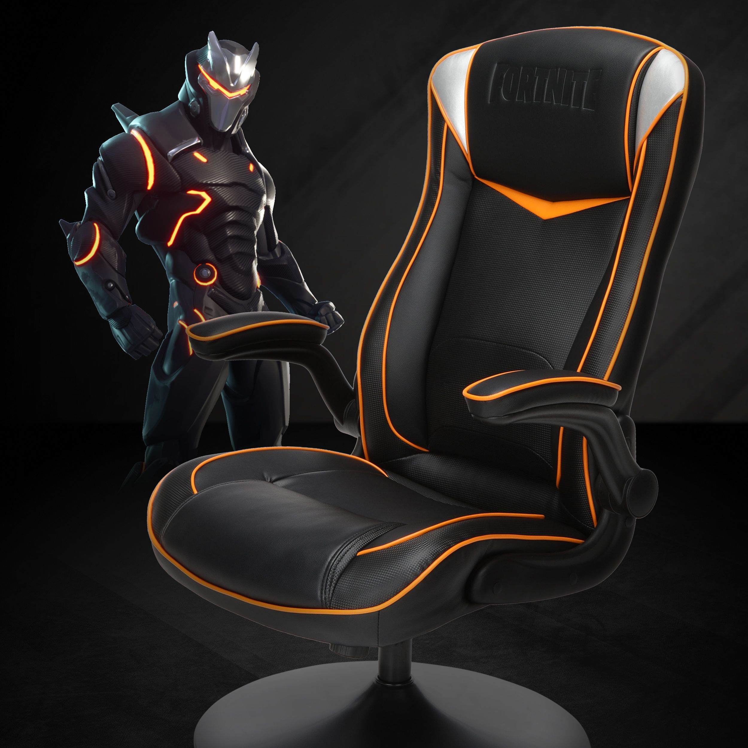 Fortnite OMEGAR Gaming Rocker Chair, RESPAWN by OFM