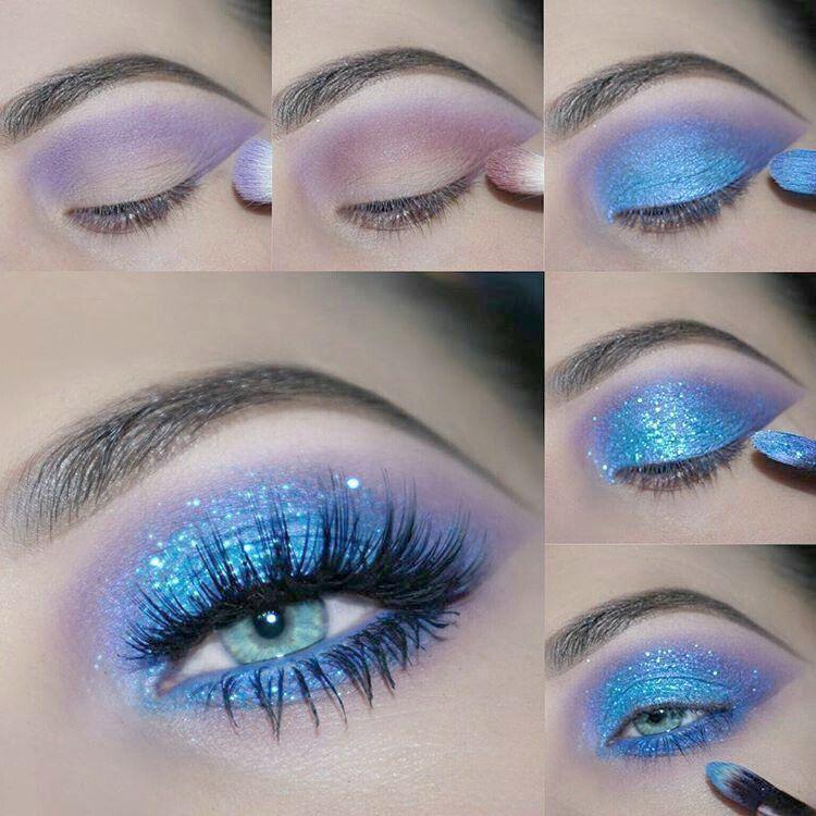 Eye Makeup Ideas For Blue Dress opposite Easy Eye Makeup For Blue Eyes Beginners #EyeMakeupSimple - Dinnerrecipeshealthy sites