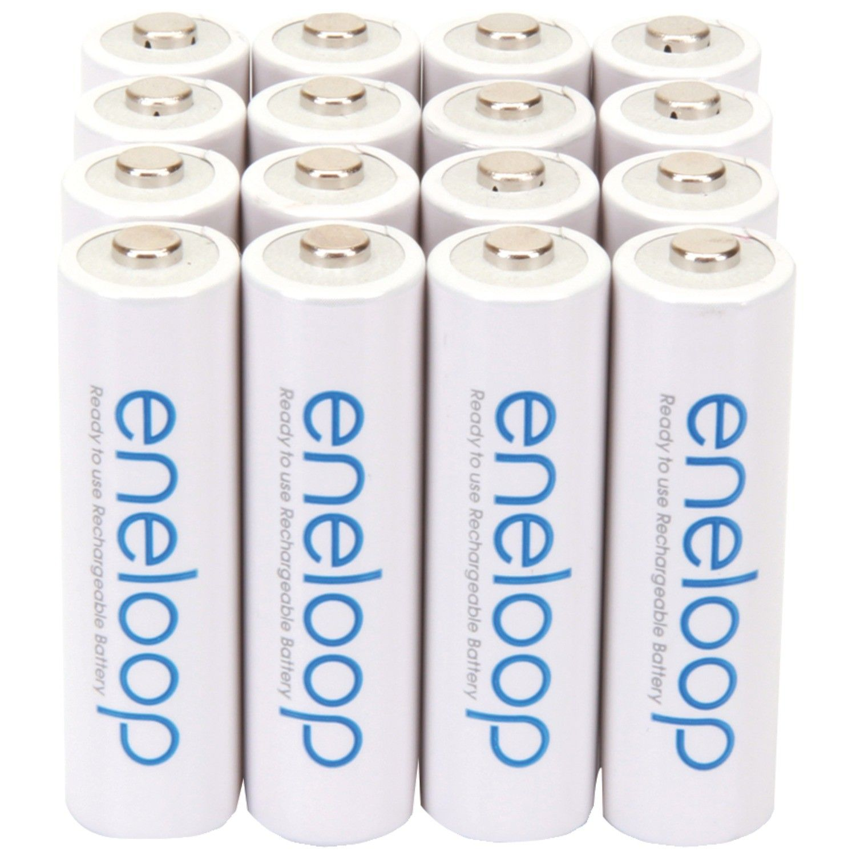 Panasonic Panasonic Eneloop Aa Battery 16 Pack Rechargeable Batteries Panasonic Batteries