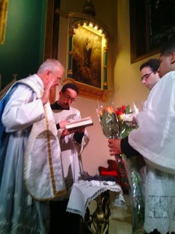 New Liturgical Movement High Mass (EF) and Blessing of Herbs