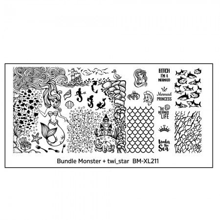 Bundle Monster - twi_star Blogger Collaboration Nail Art Polish St&ing Plates - Set 3 (BM  sc 1 st  Pinterest & Bundle Monster - twi_star Blogger Collaboration Nail Art Polish ...