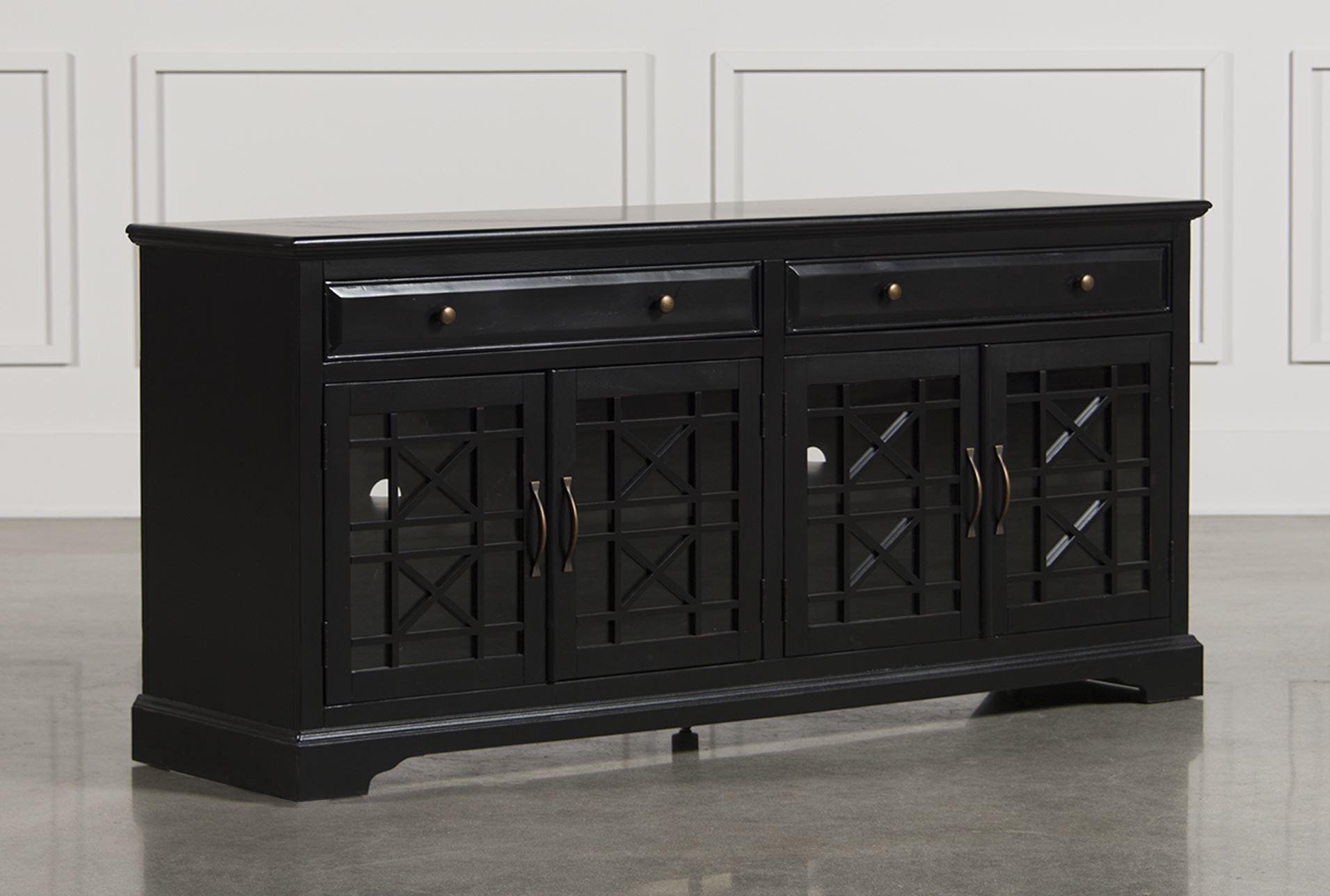 Annabelle Black 70 Inch Media Console Black Glass Tv Stand 70 Inch Tv Stand Tv Stand 70 inch media console