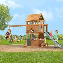 Wood Swing Sets, Gym Sets, Playsets, Backyard Fun ...