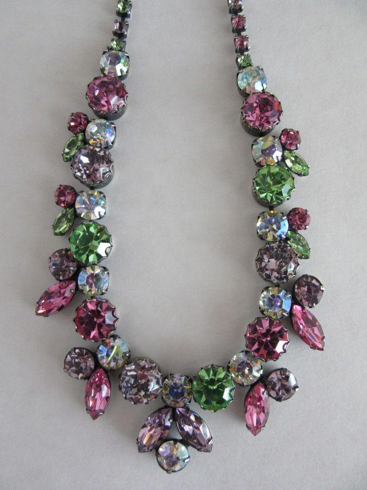 multicolored Regency necklace