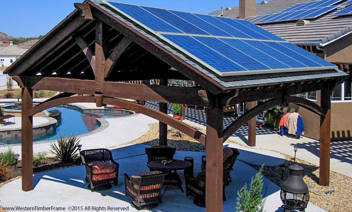 Space Saving Shelter For Solar Stand In 2020 Solar Pergola Solar Panels Roof Solar