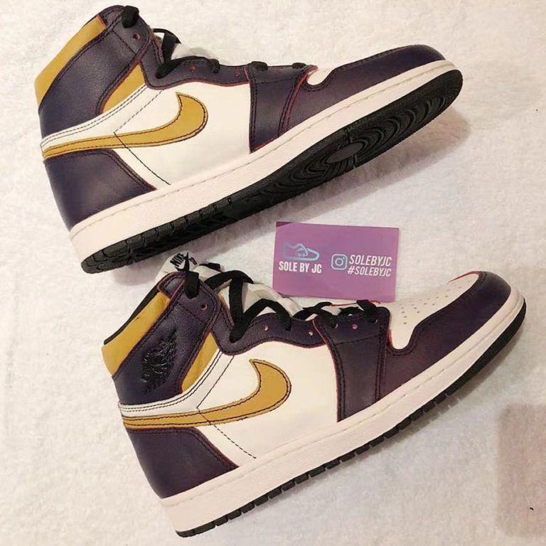 Nike SB Air Jordan 1 Lakers CD6578-507