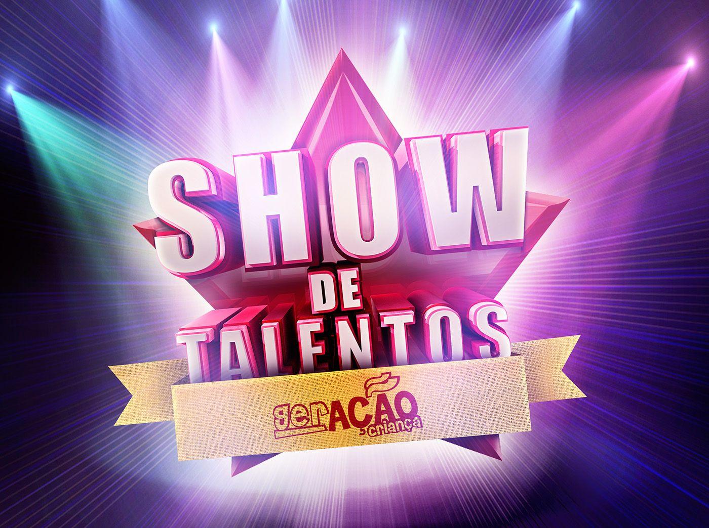 SHOW DE TALENTOS on Behance Game logo, Tv show logos