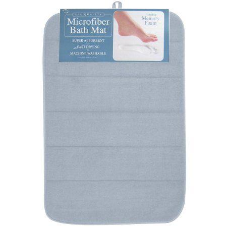 Amazon Com Envision Home Microfiber Bath Mat With Memory Foam 16