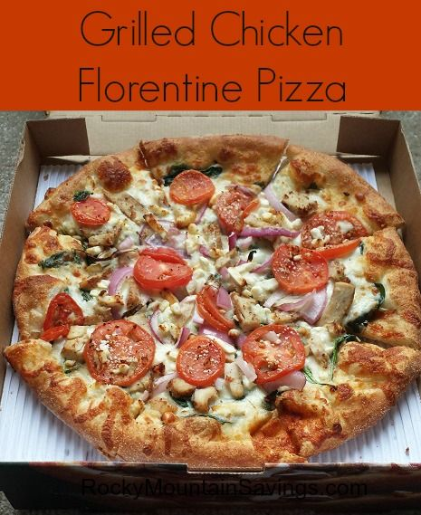 graphic regarding Marco's Pizza Printable Coupons called Marcos Pizza Fresh Grilled Rooster Florentine Pizza