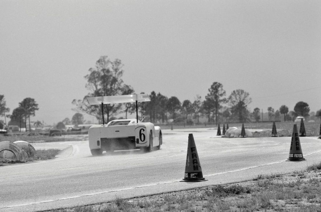 At Sebring, David Nadig captured the 2F with what appears