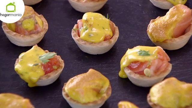 """Programa completo de hoy en el que hemos preparado """"Tartaletas de salmón con salsa holandesa"""" http://hgr.tl/1dJptby"""