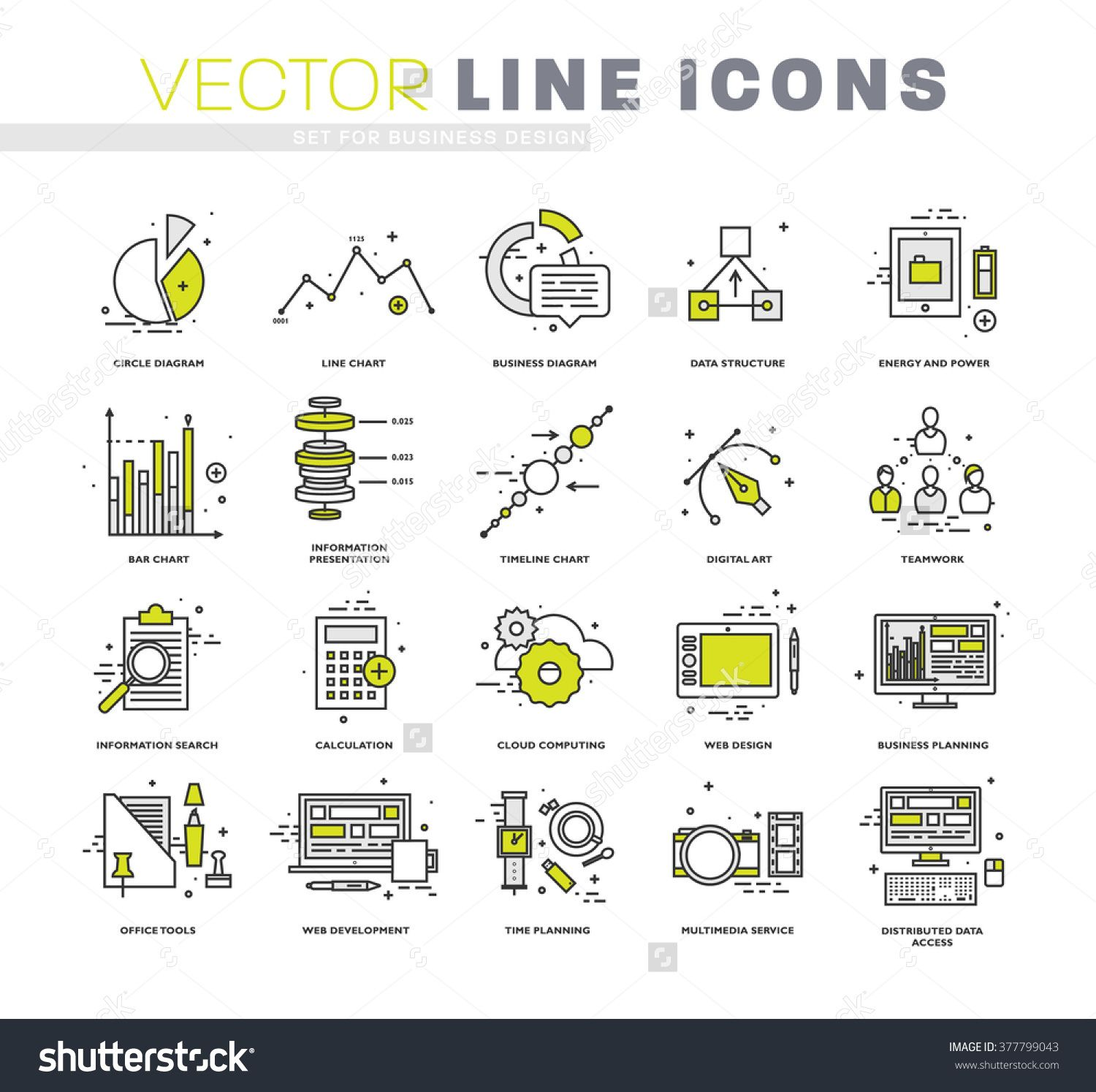 Thin line icons set business elements for websites banners simple linear pictograms collection logo concepts pack for trendy designs premium quality pictogram pack 377799043 shutterstock ccuart Images