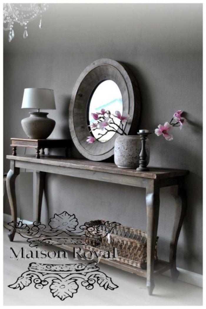 Landelijke sidetable overal inzetbaar verkrijgbaar in de kleur die jij wilt om zo jouw huisje - Eetkamer interieur decoratie ...